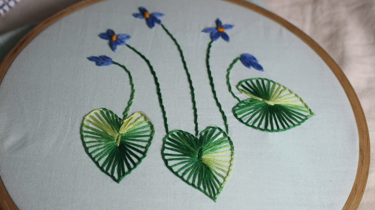 Hand Embroidery Designs Design For Beginners Stitch