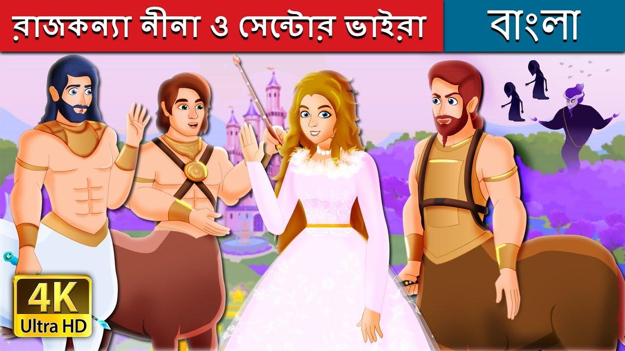 Download রাজকন্যা নীনা ও সেন্টোর ভাইরা | Bangla Cartoon | Bengali Fairy Tales