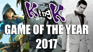 Top 10 Nominations for Game of the Year (2017)