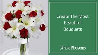 Bridal Bouquets-Create the most beautiful bouquets