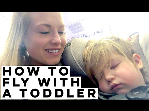 ✈ Flying With A Toddler Like A PRO! BEST Carseat Stroller