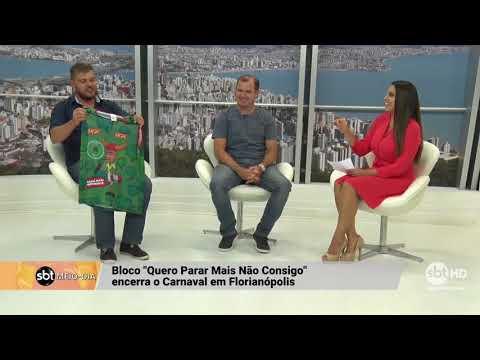 """Bloco """"Quero Parar Mas Não Consigo"""" encerra o Carnaval em Florianópolis"""