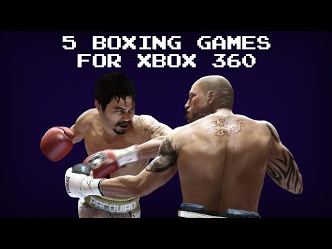 5 Boxing Games For Xbox 360