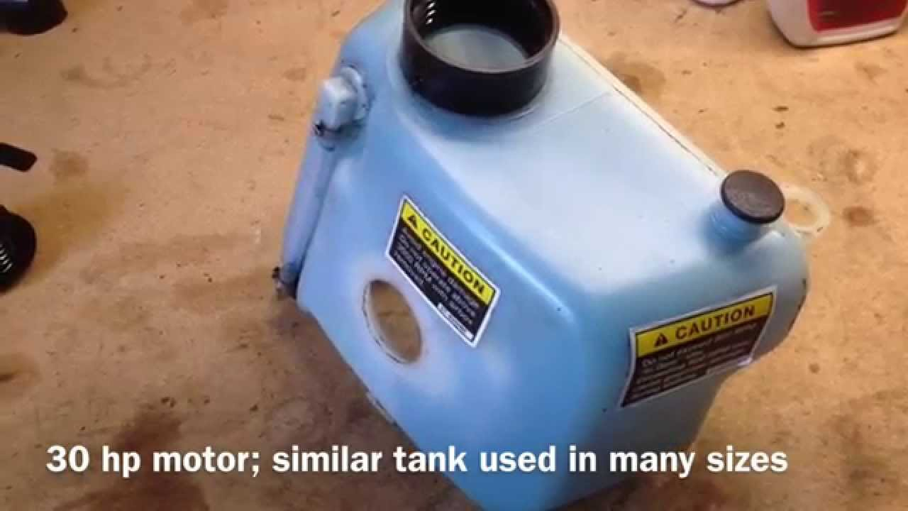 Mercury 115 Wiring Diagram 2006 Kenworth T800 Headlight Outboard Low Oil Alarm Switch Repair - Youtube