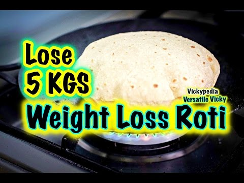 Super Weight Loss Roti in Hindi / Indian Meal Plan / Lose 5KG in a Month