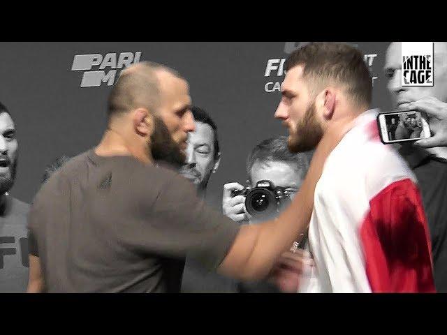 Oleksiejczuk zaatakowany na ważeniu przed UFC St. Petersburg
