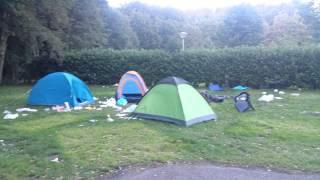 Camping de Ámsterdam. Una vergüenza