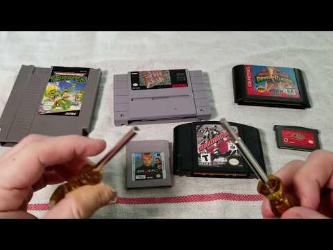 How To Clean Your Cartridges NES/SNES/GENESIS/GAMEBOY/GBA/N64