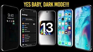 iOS 13 DARK MODE CONFIRMED & 2020 iPhones Sneak Peak!