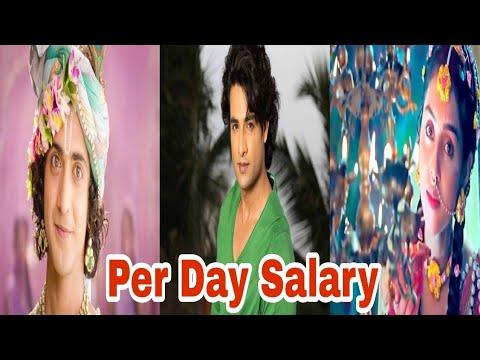 Per Day Salary of Radha Krishan Cast | Sumedh Mudgalkar, Mallika Singh