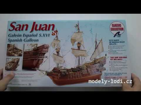 Unboxing the 18022 San Juan Ship Model Kit