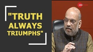 Truth always triumphs: Amit Shah on Supreme Court's judgment on Rafale deal