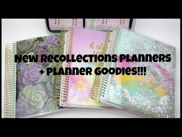 New Recollections Planners and other planner goodies!!!!