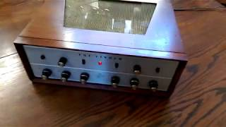 1962 Fisher KX-200 Integrated Tube Amplifier
