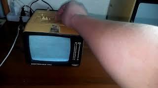 Первое включение: Электроника 409д
