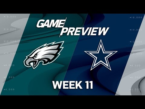 Philadelphia Eagles vs. Dallas Cowboys | NFL Week 11 Game Preview | NFL Playbook