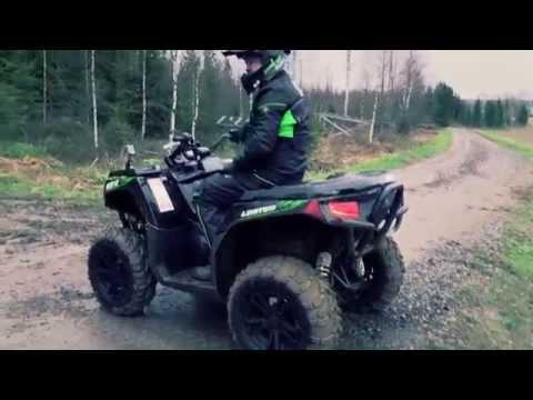 Тест-драйв квадроцикла ARCTIC CAT XR 700 от Вилле Хаапасало. Квадроциклы и снегоходы. Выпуск 26