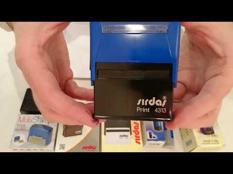 Оснастки для печатей и штампов оптом СИРДАС.