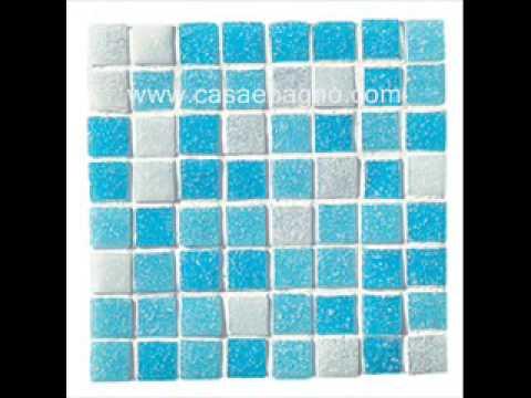 Mosaico rivestimento cucina bagno vetro youtube - Mosaico vetro bagno ...