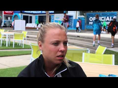 Anett Kontaveit, Australian Open 2016