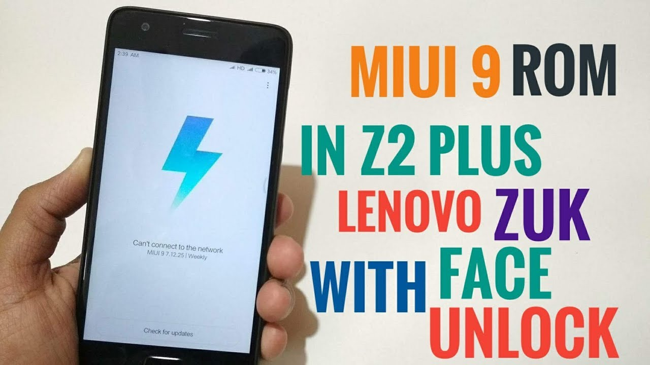 MIUI 9 Rom On Lenovo ZUK Z2 Plus | WITH FACE UNLOCK | Full Review