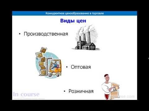 Определение цены, виды цен в дистрибуции