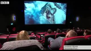 BBC News   Water, bubbles and smells in UK  first 4DX cinema