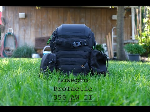 Lowepro ProTactic BP 350 AW II Review | Camera Backpack | 4K