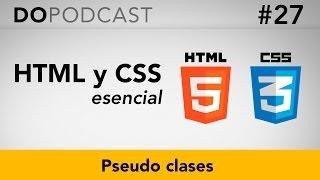 HTML y CSS Esencial #27 - Pseudo clases
