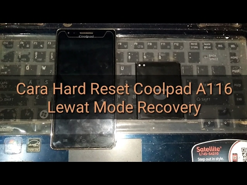 Cara Hard Reset Coolpad A116 Lewat Recovery