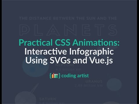 Practical CSS Animations | Interactive Infographic With SVGs and Vue.js