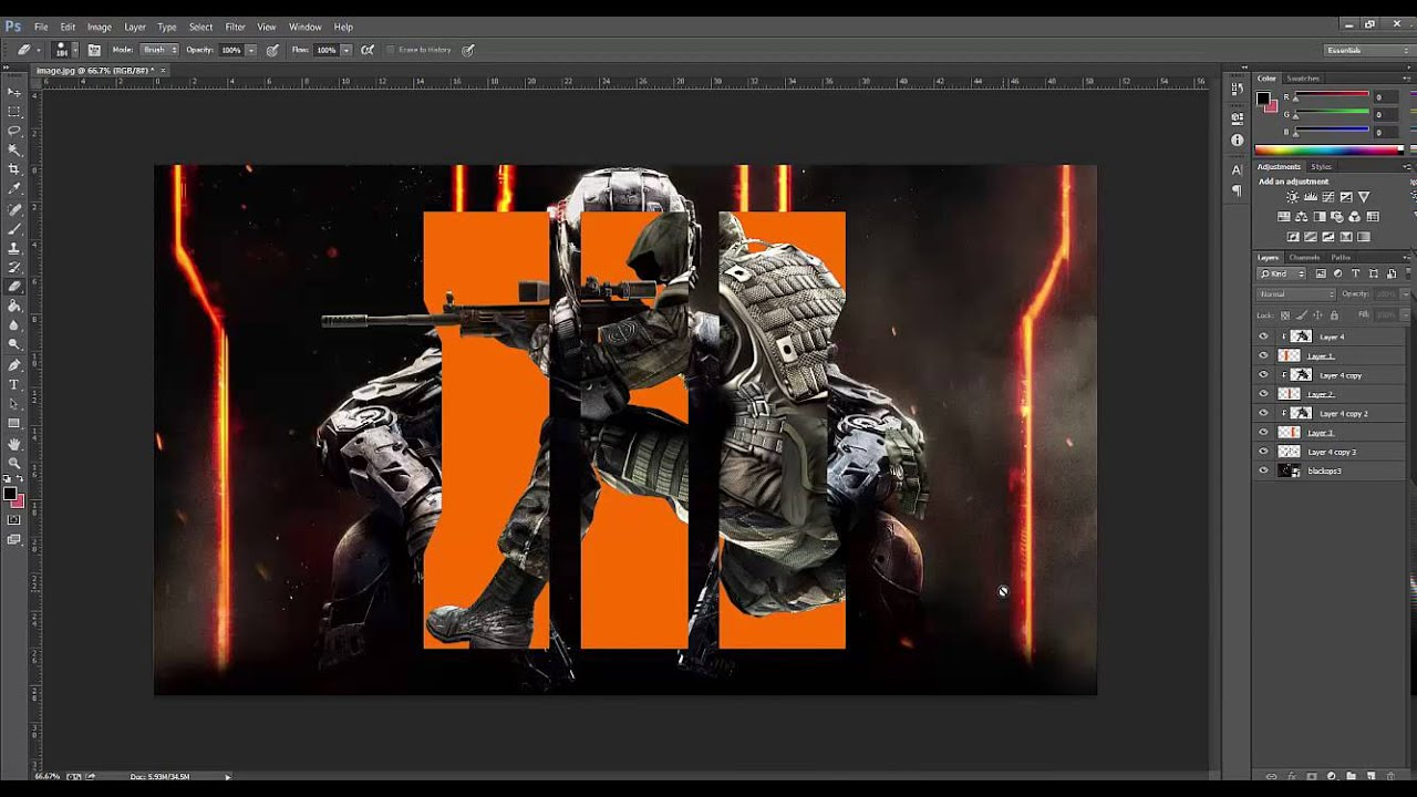 Call Of Duty Black Ops 3 Wallpaper SpeedArt