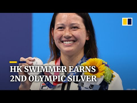 Hongkongers celebrate second Olympic silver as swimmer Siobhan Haughey smashes another Asian record