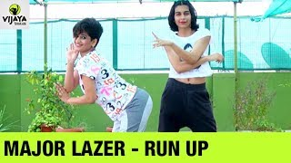 Zumba Workout On Major Lazer - Run Up |  Zumba Fitness Video | Choreographed By Vijaya & Harsha