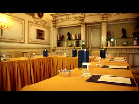 Meeting room of the Hotel Splendide Royal, Rome