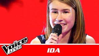 Ida  &quotCry Baby&quot af Melanie Martinez  Blind 2  Voice Junior Danmark 2016