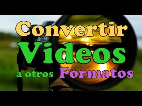 CONVERTIDOR DE VIDEOS GRATIS Para PC Programa para Convertir Formatos de Archivos De Video Rapido