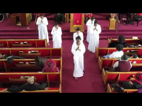 """""""Now Behold the Lamb"""" Praise Dance by Anointed Dancers of EBC"""