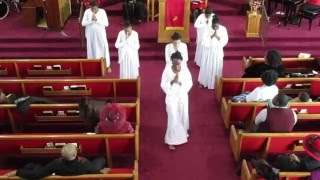 """Now Behold the Lamb"" Praise Dance by Anointed Dancers of EBC"