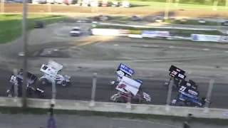 Great Lakes Super Sprints Heat Race #3 at Crystal Motor Speedway, Michigan on 06-22-2019!