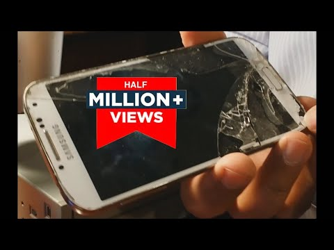 How to Repair Broken Front Glass Galaxy S4 yourself (DIY) | Replace A Smartphone Screen