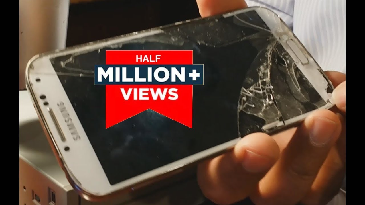 how to repair broken front glass galaxy s4 yourself diy replace rh youtube com