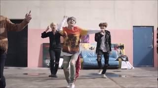 BTS Bailando canciones latinas (Parodia)