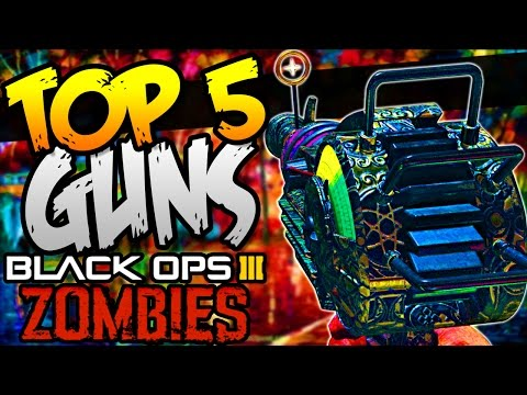 Top 5 Guns in Der Eisendrache!