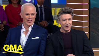 Project Blue Book's' Aiden Gillen and Neal McDonough might believe in aliens l GMA