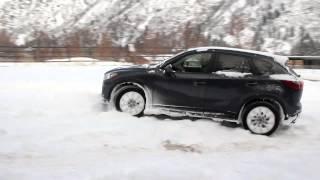 2014 Mazda cx-5 on snow