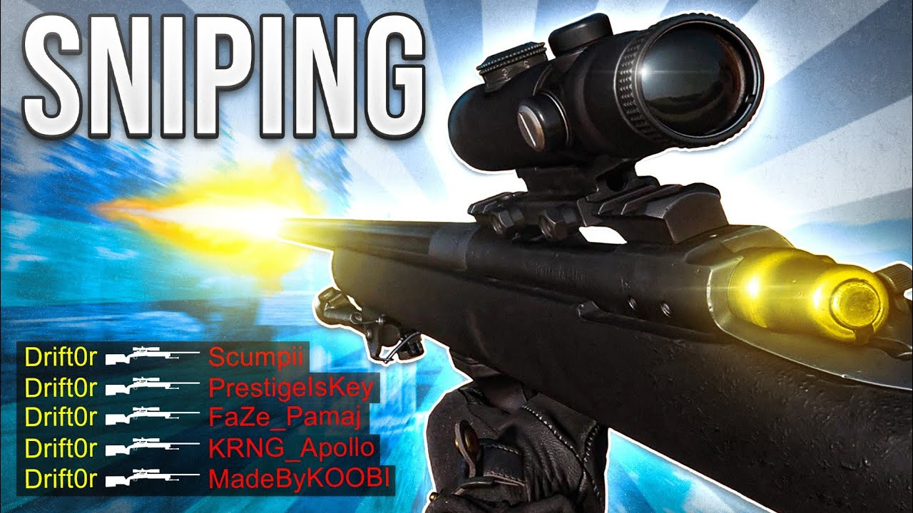 Black Ops Cold War Sniping Gameplay Mini Discussion