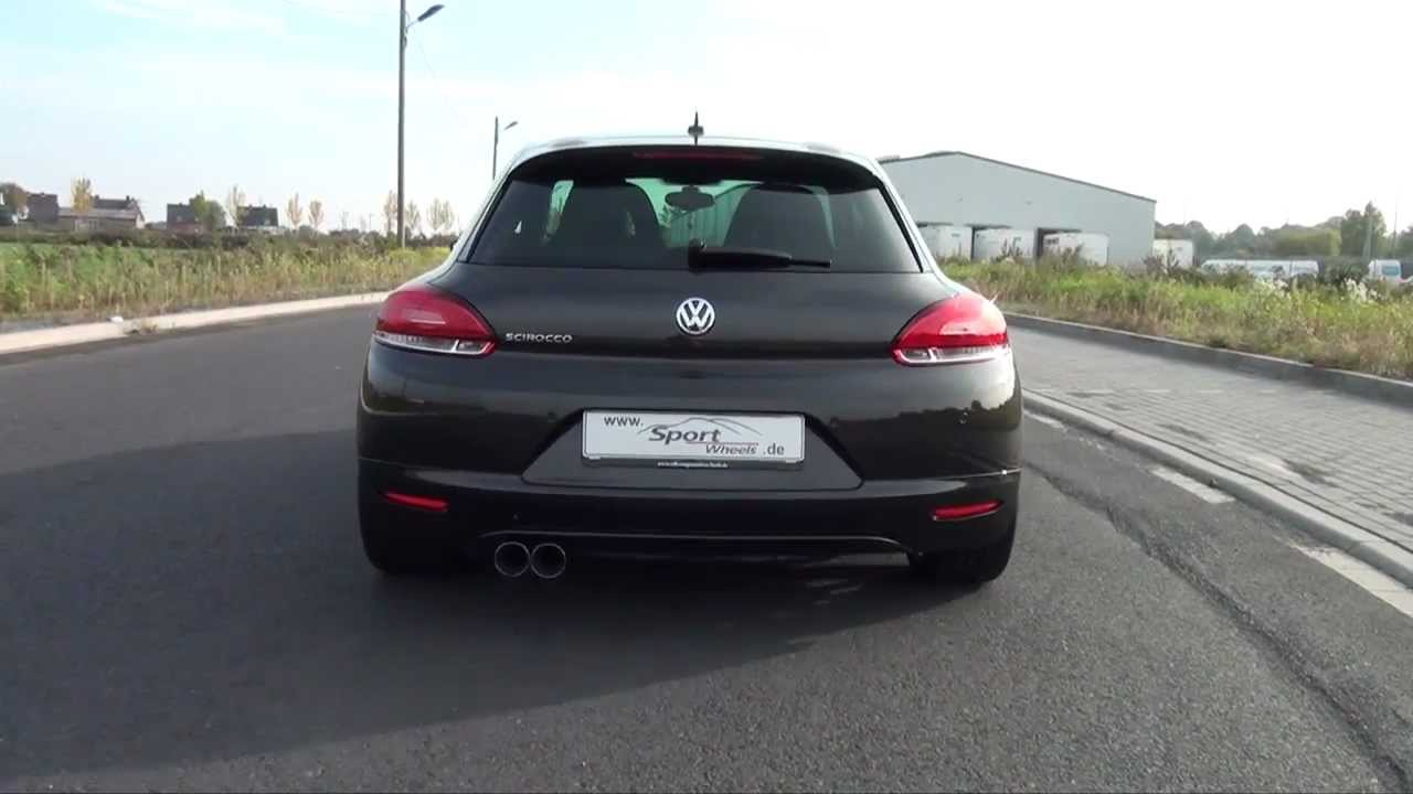 vw scirocco 1 4 tsi dsg eisenmann auspuff exhaust youtube. Black Bedroom Furniture Sets. Home Design Ideas