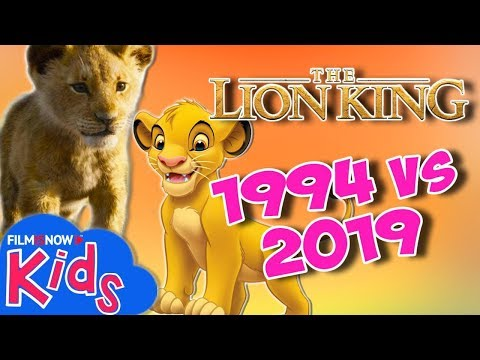 il-re-leone-trailer-|-2019-live-action-vs-1994-animazione