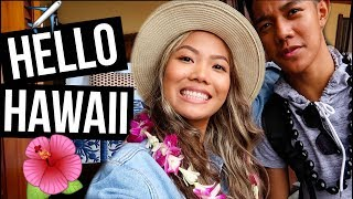 Hawaii Vlog Day 1: WELCOME TO HAWAII + HOTEL ROOM TOUR 2017 || FarinaVlogs
